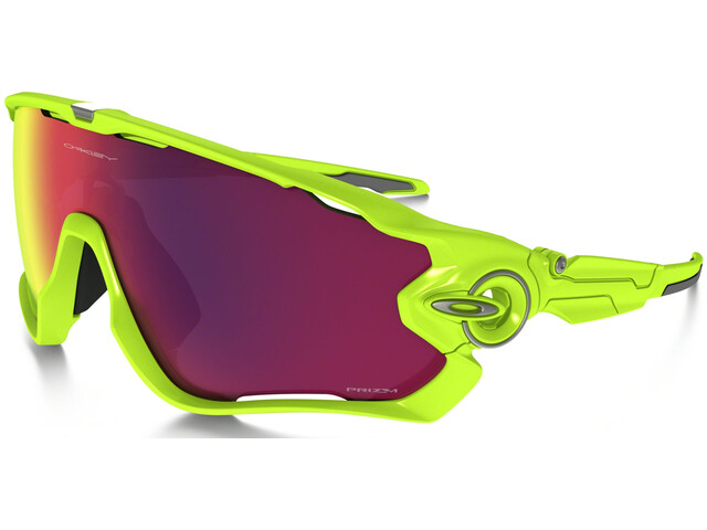 ad6e659a9b62b9 Oakley Jawbreaker - Lunettes cyclisme - jaune rose - Boutique de ...